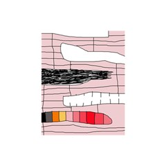 Worms Shower Curtain 48  x 72  (Small)