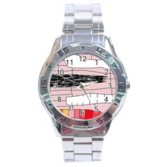 Worms Stainless Steel Analogue Watch