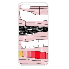Worms Apple iPhone 5 Seamless Case (White)