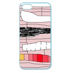 Worms Apple Seamless iPhone 5 Case (Color)