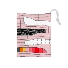 Worms Drawstring Pouches (Medium)