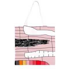 Worms Grocery Light Tote Bag