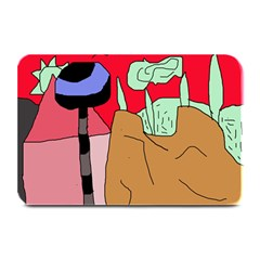 Imaginative abstraction Plate Mats