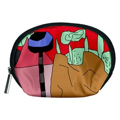 Imaginative abstraction Accessory Pouches (Medium)