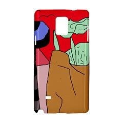 Imaginative abstraction Samsung Galaxy Note 4 Hardshell Case