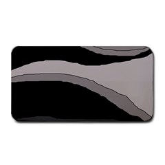 Black and gray design Medium Bar Mats