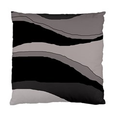Black and gray design Standard Cushion Case (One Side)