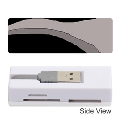 Black and gray design Memory Card Reader (Stick)