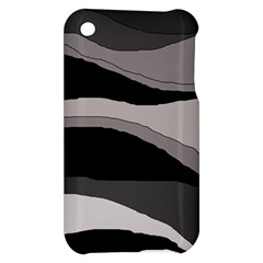 Black and gray design Apple iPhone 3G/3GS Hardshell Case