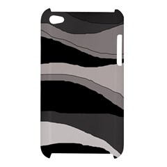 Black and gray design Apple iPod Touch 4