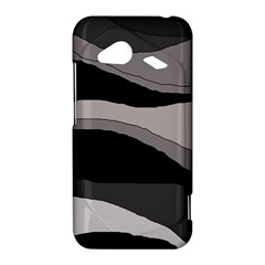 Black and gray design HTC Droid Incredible 4G LTE Hardshell Case