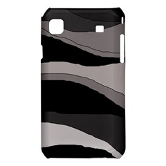 Black and gray design Samsung Galaxy S i9008 Hardshell Case