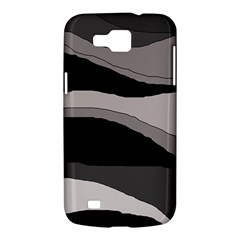 Black and gray design Samsung Galaxy Premier I9260 Hardshell Case