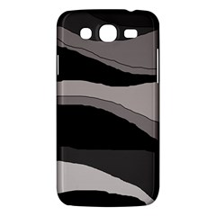 Black and gray design Samsung Galaxy Mega 5.8 I9152 Hardshell Case