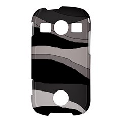 Black and gray design Samsung Galaxy S7710 Xcover 2 Hardshell Case