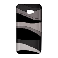 Black and gray design HTC Butterfly S/HTC 9060 Hardshell Case