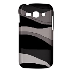 Black and gray design Samsung Galaxy Ace 3 S7272 Hardshell Case