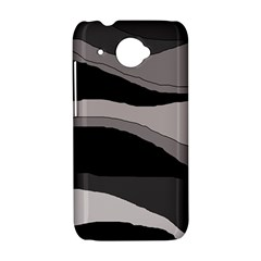 Black and gray design HTC Desire 601 Hardshell Case