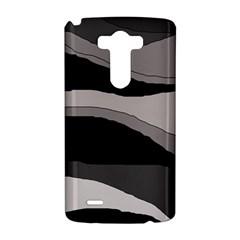 Black and gray design LG G3 Hardshell Case