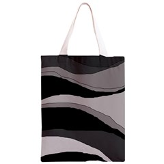 Black and gray design Classic Light Tote Bag