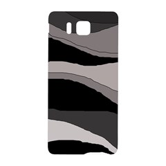 Black and gray design Samsung Galaxy Alpha Hardshell Back Case
