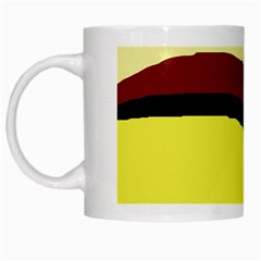 Decorative abstract design White Mugs