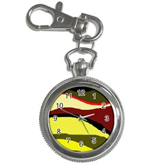 Decorative abstract design Key Chain Watches