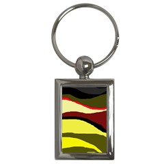 Decorative abstract design Key Chains (Rectangle)