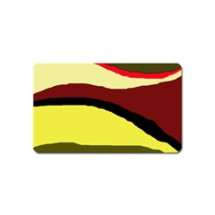 Decorative abstract design Magnet (Name Card)