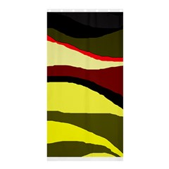 Decorative abstract design Shower Curtain 36  x 72  (Stall)