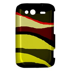 Decorative abstract design HTC Wildfire S A510e Hardshell Case