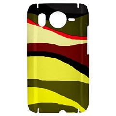 Decorative abstract design HTC Desire HD Hardshell Case