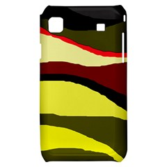 Decorative abstract design Samsung Galaxy S i9000 Hardshell Case