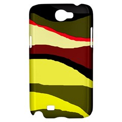 Decorative abstract design Samsung Galaxy Note 2 Hardshell Case