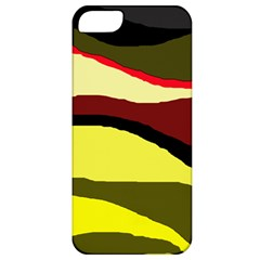 Decorative abstract design Apple iPhone 5 Classic Hardshell Case