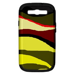 Decorative abstract design Samsung Galaxy S III Hardshell Case (PC+Silicone)