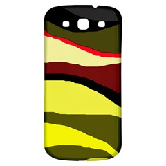 Decorative abstract design Samsung Galaxy S3 S III Classic Hardshell Back Case