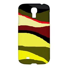 Decorative abstract design Samsung Galaxy S4 I9500/I9505 Hardshell Case