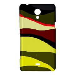 Decorative abstract design Sony Xperia T