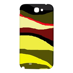 Decorative abstract design Samsung Note 2 N7100 Hardshell Back Case