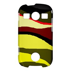 Decorative abstract design Samsung Galaxy S7710 Xcover 2 Hardshell Case