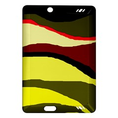 Decorative abstract design Amazon Kindle Fire HD (2013) Hardshell Case