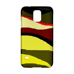 Decorative abstract design Samsung Galaxy S5 Hardshell Case