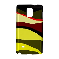 Decorative abstract design Samsung Galaxy Note 4 Hardshell Case