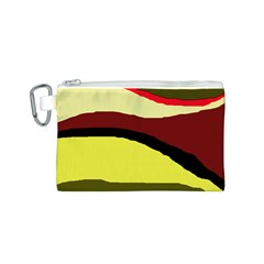 Decorative abstract design Canvas Cosmetic Bag (S)