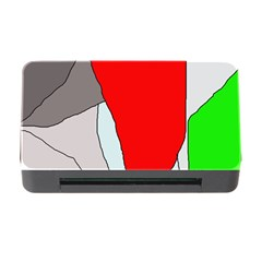 Colorful abstraction Memory Card Reader with CF
