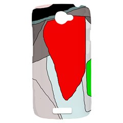 Colorful abstraction HTC One S Hardshell Case