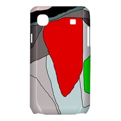 Colorful abstraction Samsung Galaxy SL i9003 Hardshell Case