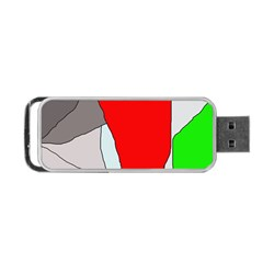 Colorful abstraction Portable USB Flash (One Side)