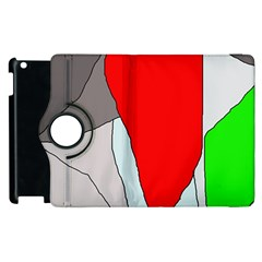 Colorful Abstraction Apple Ipad 3/4 Flip 360 Case